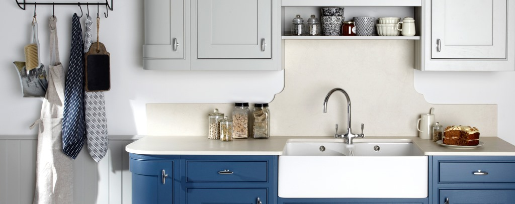 Langton painted kitchen