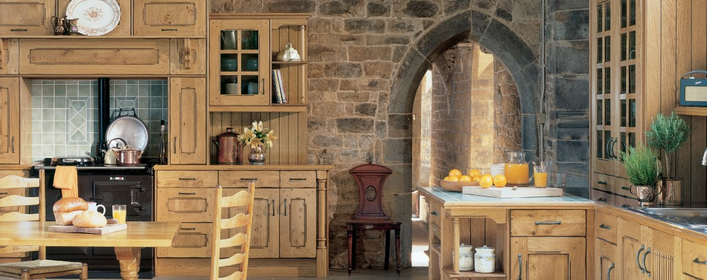 Arundel character oak kitchen