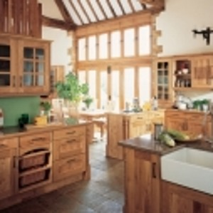 Arundel natural oak kitchen