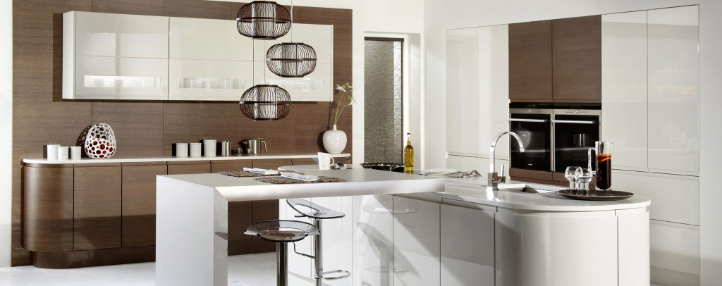 Burbidge Malmo gloss kitchen