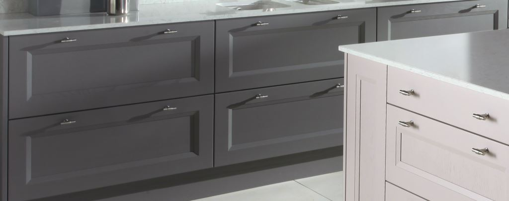 Gresham painted kitchen