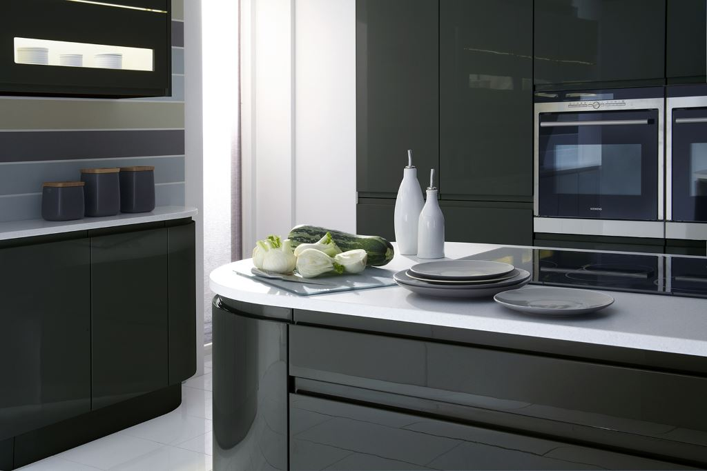 Malmo Gloss Anthracite kitchen