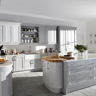 Kew kitchen - Simply Burbidge
