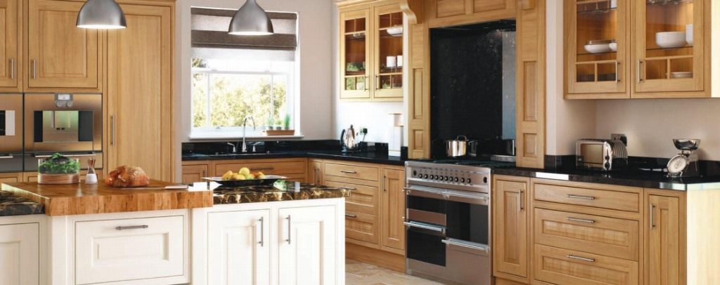 Eildon Oak Inframe Kitchen