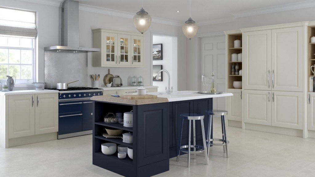 Abberley cream shaker kitchen kitchen