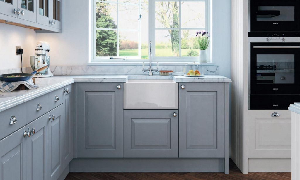 Abberley shaker painted kitchen