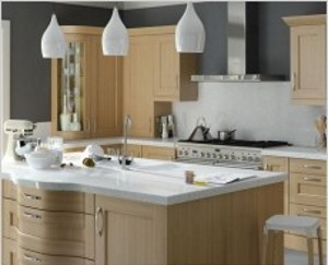 Rivington natural oak shaker kitchen