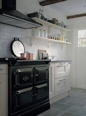 Bowfell oak painted kitchen
