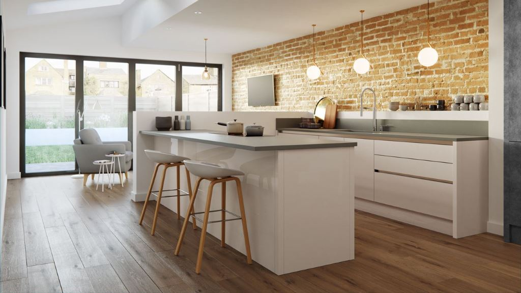 Cosdon savanna gloss kitchen