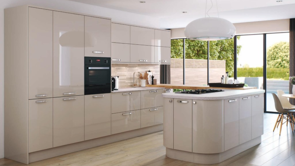 Hameldown dune gloss kitchen