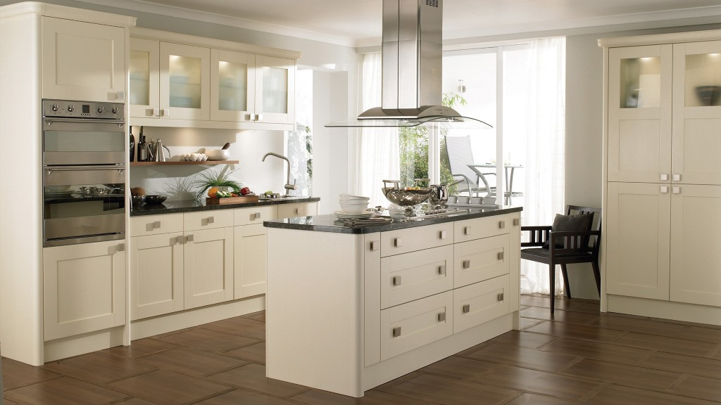 Meldon cream shaker kitchen kitchen