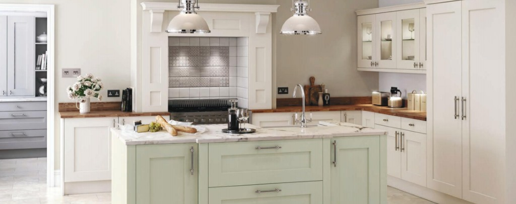 Rivington shaker painted kitchen