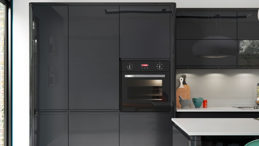 Welford Graphite kitchen