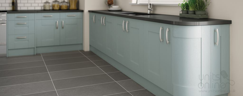 Cartmel hand painted shaker kitchen