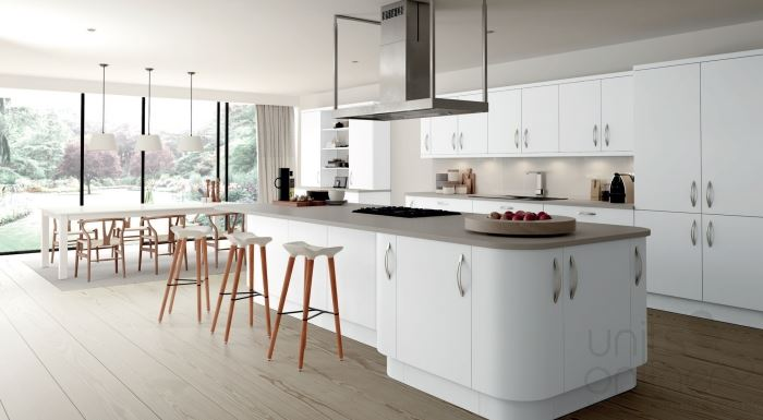Imola white modern kitchen