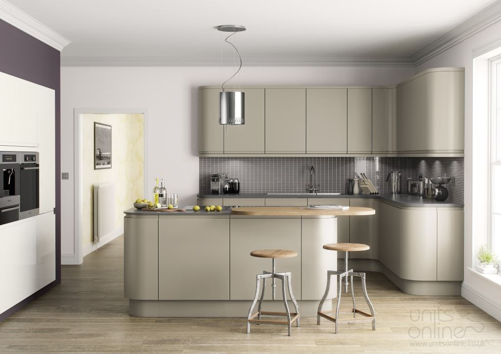 Lucente matt painted kitchen dakar