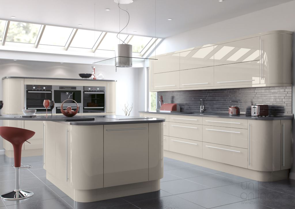 Vivo gloss cashmere  kitchen