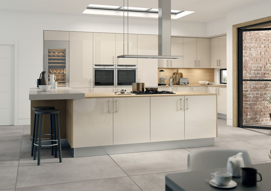 Vivo gloss stone  kitchen