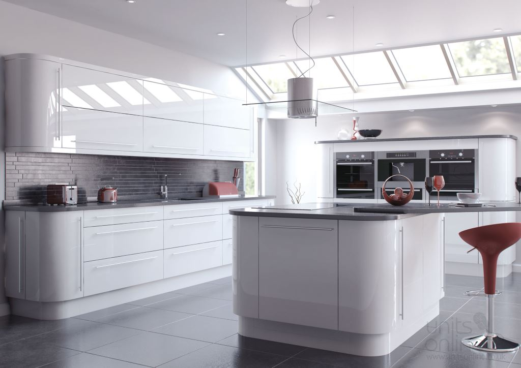 Vivo gloss white  kitchen