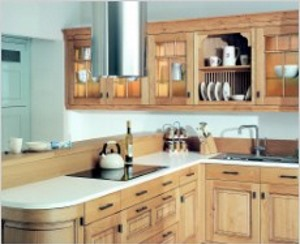 Dante light oak antiqued kitchen