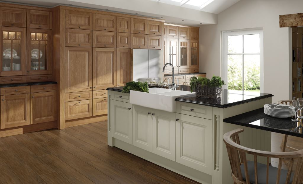 Jefferson ivory classic kitchen