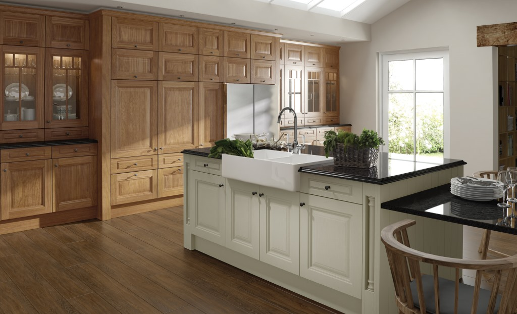 Jefferson classic oak kitchen