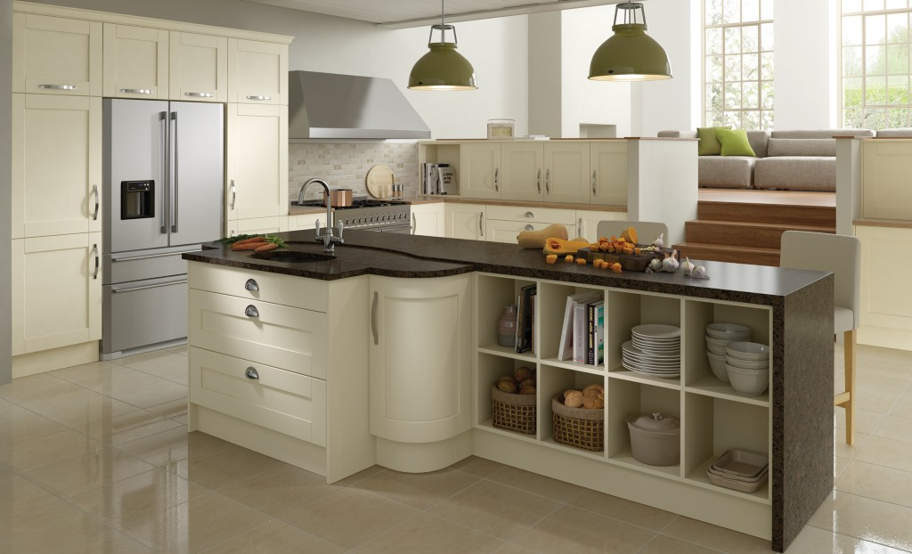 Madison Ivory Painted Shaker Kitchen
