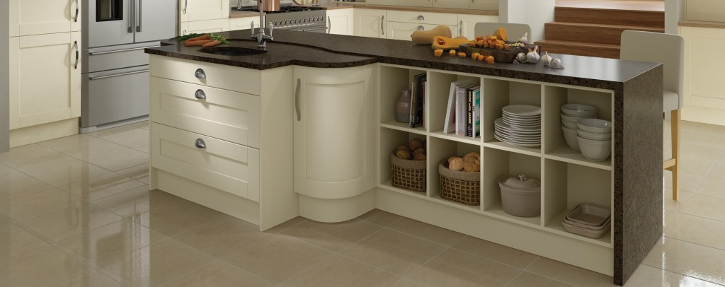 Madison ivory shaker kitchen