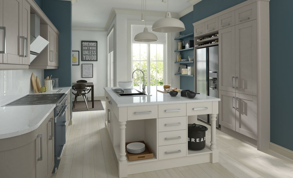 Madison stone shaker kitchen