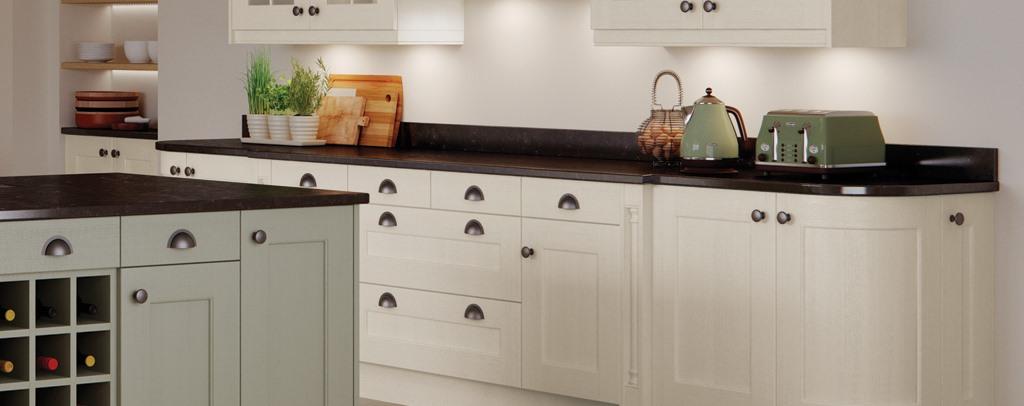 Wakefield Ivory Shaker Kitchen Kitchen Units Online