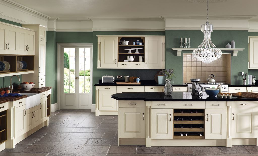 Windsor shaker ivory kitchen