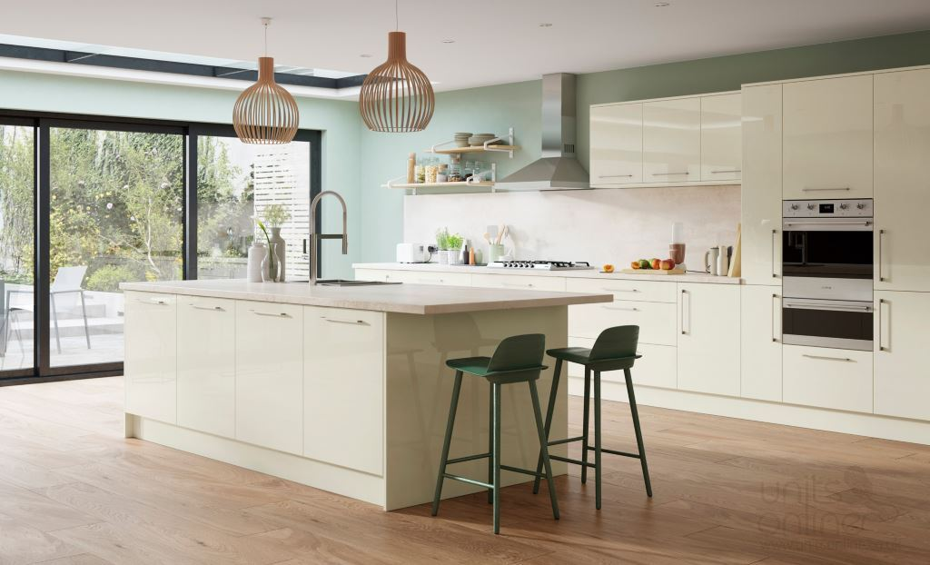 Zola gloss porcelain kitchen