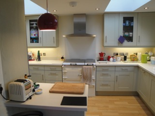 Second Nature kitchens Broadoak painted