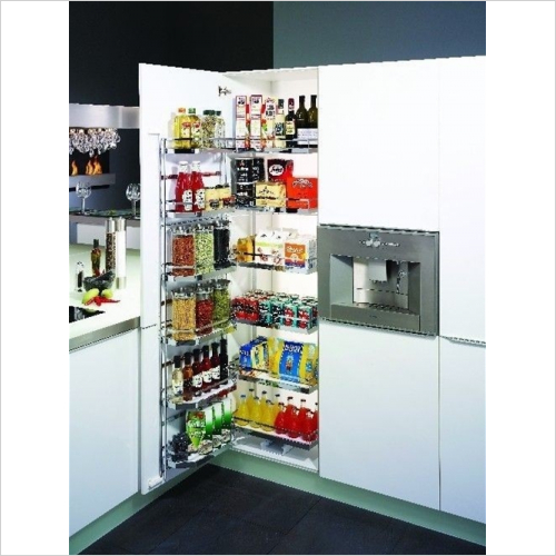 Kessebohmer - Arena Style Tandem Larder Unit, 600mm Wide, 1700mm High