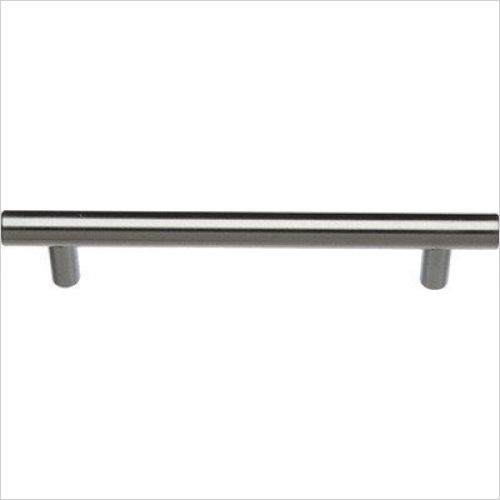 Units Online - Bar Handle 128mm Hole Centres, 168mm Length