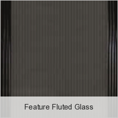 Feature Fluted Glass
