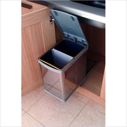 Fitted Bins - Pull-Out Waste Bin, 20 ltr