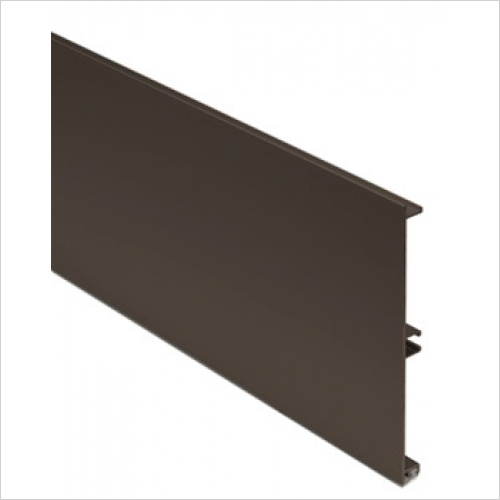 Units Online - Plinth Panel 145 x 3000mm Aluminium