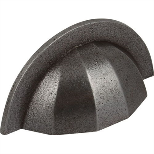 Units Online - Bold Cup Pull Handle Cast Iron 64mm cc