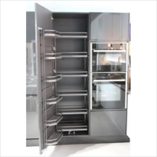 Kessebohmer - Style Tandem Larder Unit, Studio Height, 500mm Wide