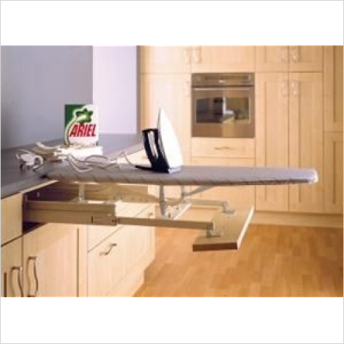 Fitted Bins - Pull-Out Ironing Board For 400-500mm Wide Unit