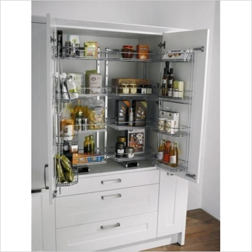 Kessebohmer - Classic Tandem Larder Unit, Studio Height, 500mm Wide