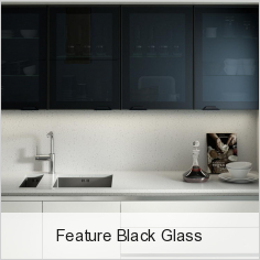 Feature Black Glass
