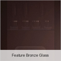 Feature Bronze Glass