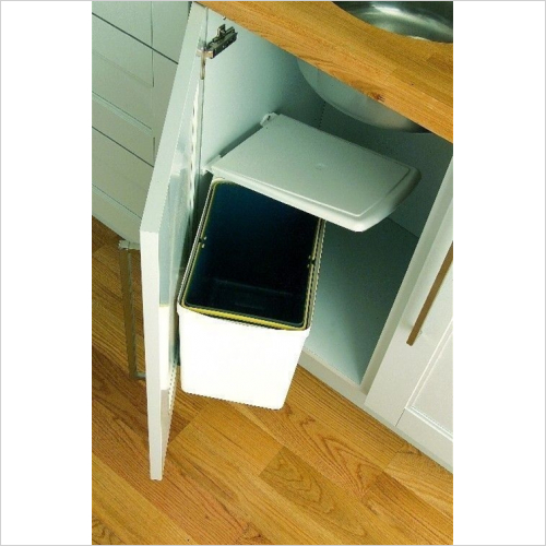 Fitted Bins - Under Sink Waste Bin, 16 ltr