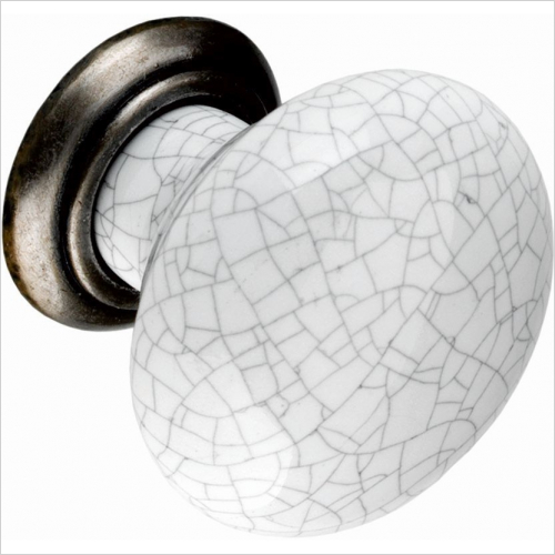 PWS - Knob, 35mm, With Grey Crackle