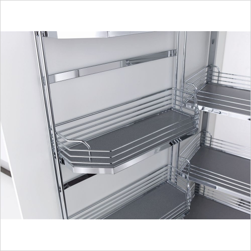 Kessebohmer - Arena Classic Tandem Larder Unit, 500mm Wide, 1700mm High