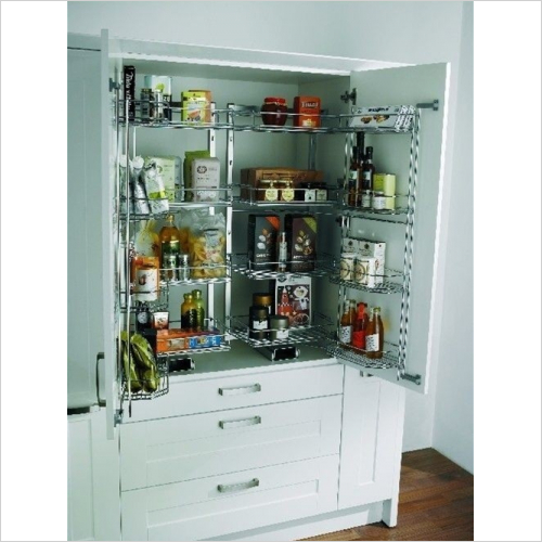 Kessebohmer - Arena Style Tandem Larder Unit, Studio Height, 500mm Wide
