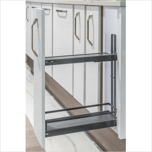 Kessebohmer - Style Base Unit Tray Pull-Out, 150mm Wide