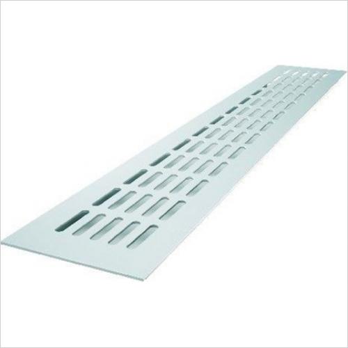 Plinth Accessories - Ventilation Grill, Rectangular, 480 x 80mm